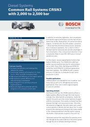CRSN3 up to 2500 bar (PDF 960.22 kB) - Bosch Automotive ...