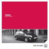 Renault Twingo prijslijst 2011 (PDF) - Stichting Twingo Club