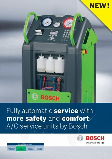 NEW! Fully automatic service with more safety and comfort: A/C ...