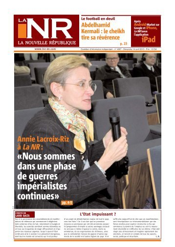 Page 01-4607csearezki - La Nouvelle République