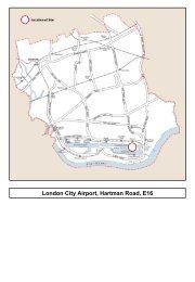 London City Airport, Hartman Road, E16