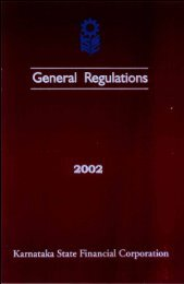 General Regulations - Ksfc.in