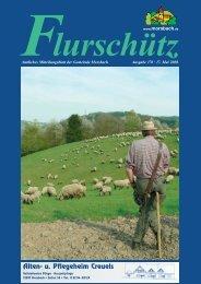 Ausgabe 170 vom 17.05.2008 - Gemeinde Morsbach
