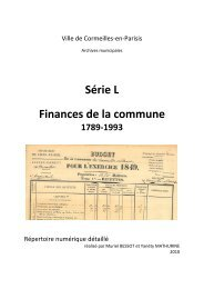 Finances communales (pdf - 711,00 ko) - Cormeilles-en-Parisis