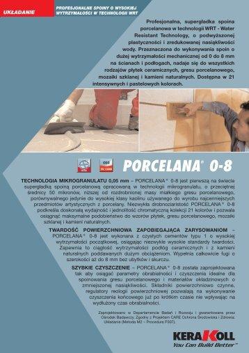 porcelana® 0-8 - Technologie-Budowlane.com