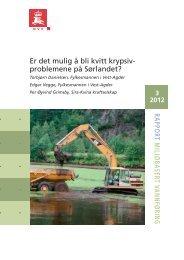 Er det mulig å bli kvitt krypsivproblemene på Sørlandet?