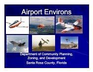 JLUS Presentation for Realtors - Santa Rosa County