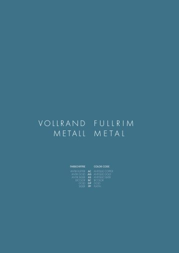 vollrand metall fullrim metal