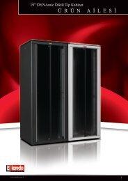 DYNAmic Dikili Tip Kabinetler W800xD600mm Pdf Görüntüle - LANDE