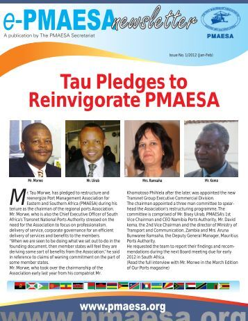 ePMAESA Newsletter January-February 2012