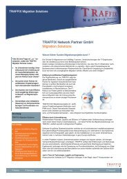 TRAFFIX Network Partner GmbH Migration Solutions