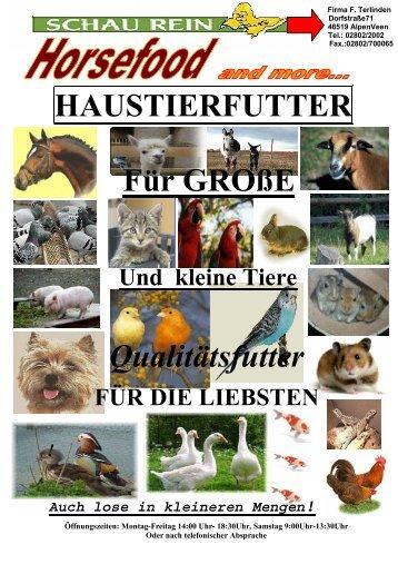 Sortenbeschreibung Vogelfutter - Futterschmiede-veen.de