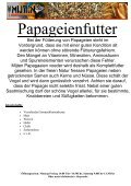 Sortenbeschreibung Vogelfutter - Futterschmiede-veen.de - Seite 3