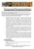 Sortenbeschreibung Vogelfutter - Futterschmiede-veen.de - Seite 5
