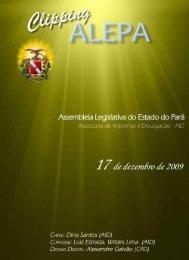 Í 7 dê' dèzem õro dê 2009 - Assembléia Legislativa do Estado do Pará