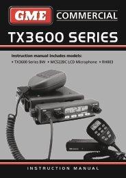 GME TX3600 - Coastal Electronics