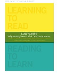 Why Reading by the End of Third Grade Matters - New Mexico ...
