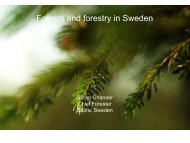 Forests and forestry in Sweden