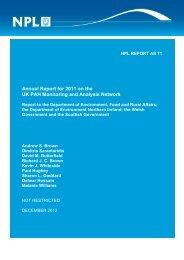NPL REPORT CSSC 0001 - UK-Air - Defra
