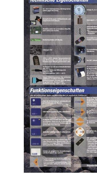Siehe PROSPEKT - Waagen.de