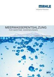 Trinkwasseraufbereitung - MAHLE Industry - Filtration