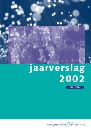 Jaarverslag 2002 - College bescherming persoonsgegevens