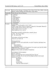 FSR Sitzung 05.12.2007 - FSE