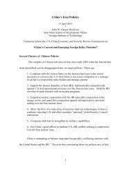 China's Iran Policies - U.S.-China Economic and Security Review ...
