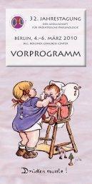 vorprogramm - Schweizerische Gesellschaft für Pädiatrische ...