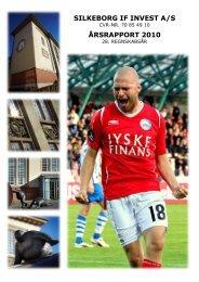 Årsrapport 2010 - Silkeborg IF fodbold