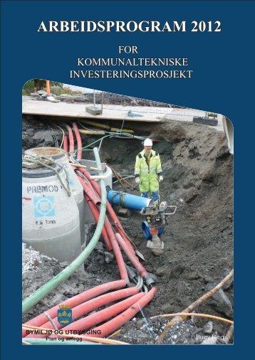 arbeidsprogram 2012 - Stavanger 2008
