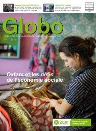 Globo 23 : Oxfam et les défis de l'économie sociale