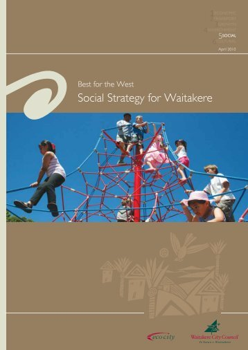 Social Strategy for Waitakere - Auckland Council