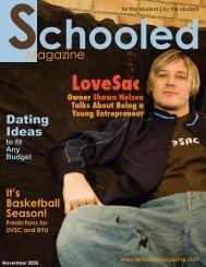 32 pg. Nov. schooled - Schooled Magazine