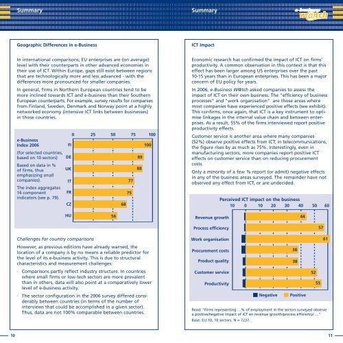 Pocketbook of e-Business Indicators - empirica
