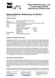 Zusammenfassung Standortfaktoren - WTG Rottenburg am Neckar ...