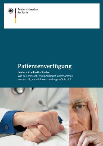 Patientenverfügung - Dr. Thomas Wachter Notar | München