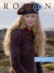 Knitting & Crochet Magazine 52 Preview - Rowan