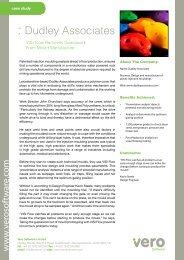 : Dudley Associates - Vero Software