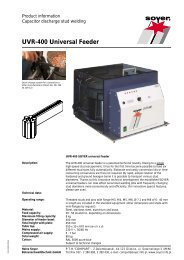 UVR-400 Universal Feeder - Soyer