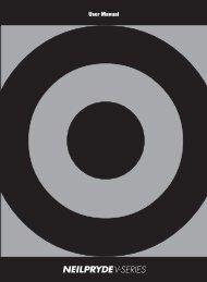 user manual - Neil Pryde