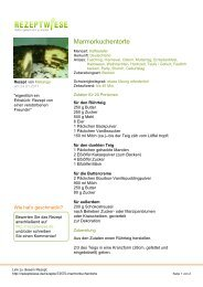 Druckversion (PDF) - Rezeptwiese