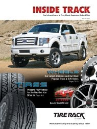 Our Latest Additions and Our Most Popular Truck & SUV ... - Tire Rack