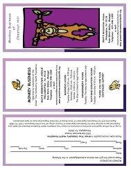 pamphlet - Green Tree Community Health Foundation