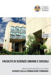 Scarica la Guida dello Studente - Università degli Studi del Molise