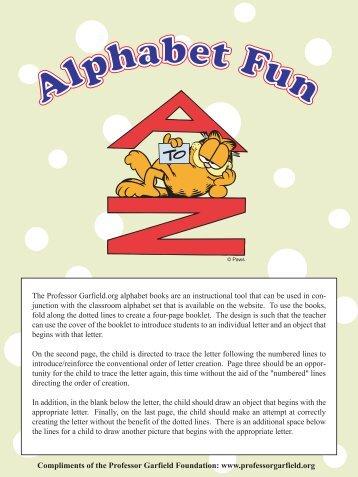 Garfield Alphabet Books