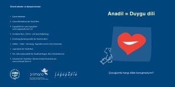 Anadil = Duygu dili - Buchstart