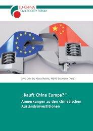 Kauft China Europa? - Werkstatt Ökonomie