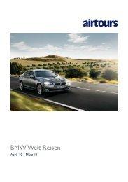 AIRTOURS - BMW Welt Reisen - 2010/2011 - tui.com - Onlinekatalog