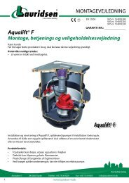 Aqualift®F - Lauridsen Handel og Import A/S
